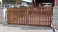 Cena dvoukřídlé brány