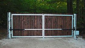 Křídlová brána - vzorová brána č.2