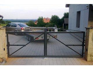 Křídlové vjezdové brány obr.č.: 4