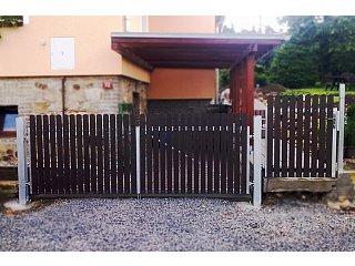Křídlové vjezdové brány obr.č.: 5
