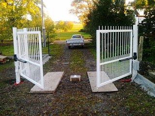 Cena dvoukřídlé otočné brány pro rok 2017 obr.č.: 8