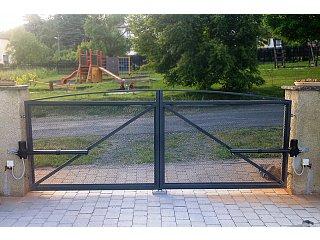 Křídlové vjezdové brány obr.č.: 3