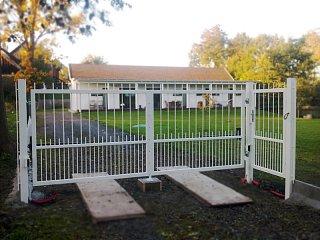 Cena dvoukřídlé otočné brány pro rok 2017 obr.č.: 9