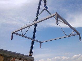 Ocelové konstrukce krovů obr.č.: 4