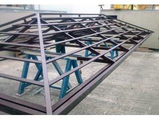 Ocelové konstrukce krovů